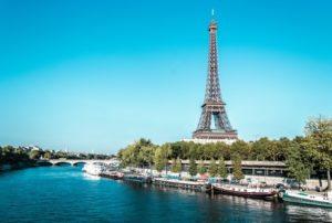 Rive gauche sulla Senna di Parigi