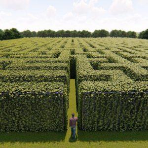 labirinti in italia